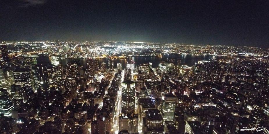 美國 - 紐約曼哈頓3大日落夜景拍攝景點-洛克菲勒、帝國大廈、自由女神04_
