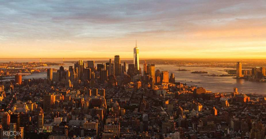 美國 - 紐約曼哈頓3大日落夜景拍攝景點-洛克菲勒、帝國大廈、自由女神05-1klook