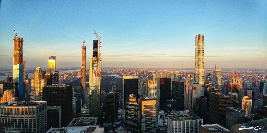 美國 - 紐約曼哈頓3大日落夜景拍攝景點-洛克菲勒、帝國大廈、自由女神06_