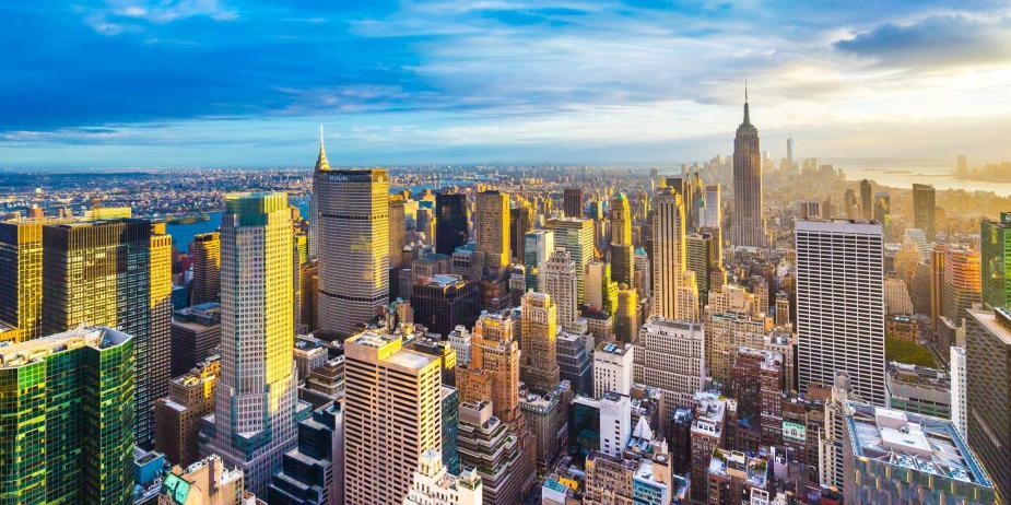 美國 - 紐約曼哈頓3大日落夜景拍攝景點-洛克菲勒、帝國大廈、自由女神10-2