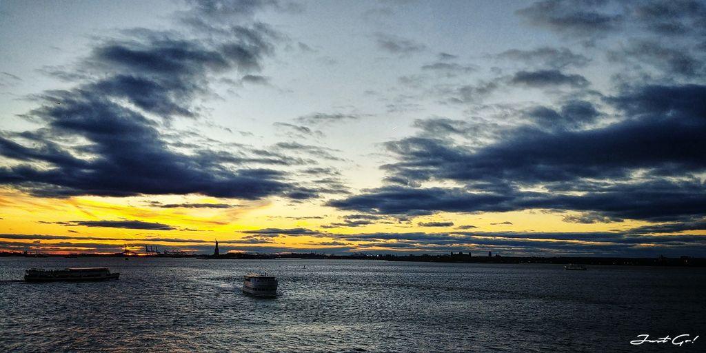 美國 - 紐約曼哈頓3大日落夜景拍攝景點-洛克菲勒、帝國大廈、自由女神12_