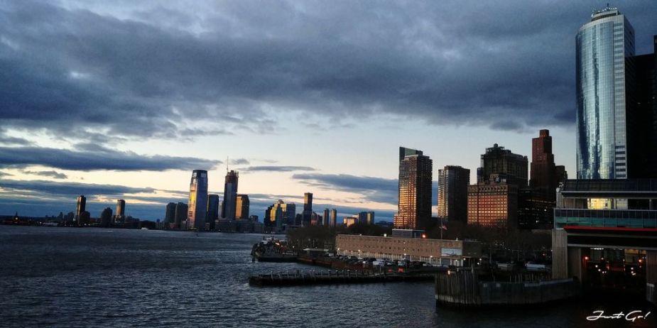 美國 - 紐約曼哈頓3大日落夜景拍攝景點-洛克菲勒、帝國大廈、自由女神13_