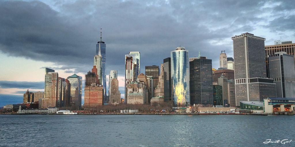 美國 - 紐約曼哈頓3大日落夜景拍攝景點-洛克菲勒、帝國大廈、自由女神15_