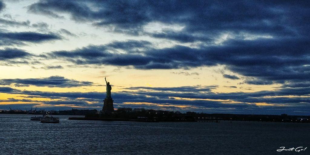美國 - 紐約曼哈頓3大日落夜景拍攝景點-洛克菲勒、帝國大廈、自由女神16_
