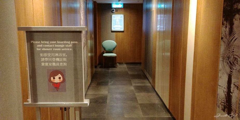 香港 - 環亞、遨堂、紫荊堂機場貴賓室休息睡覺、餐點服務比較14_