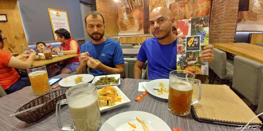 智利 - 聖地牙哥的台灣味雞排美食推薦-好呷、pollo chang餐廳07_