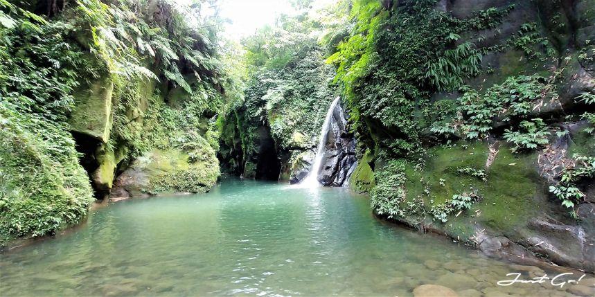 台灣 - 新北石碇必去景點·蚯蚓坑峽谷·夢幻美景-公車、溯溪、裝備8