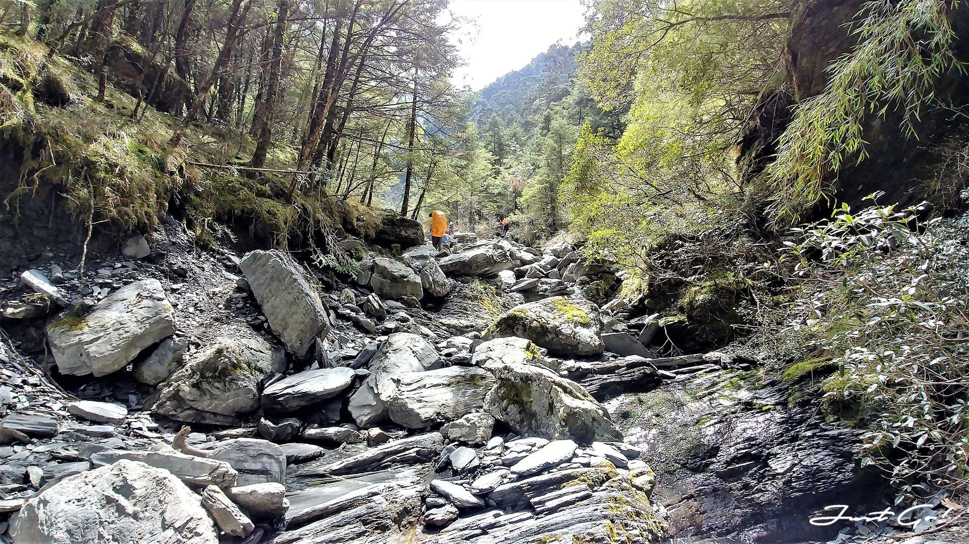 台灣 - 黃金色的奇萊主北·2天1夜紀事-gpx路線、行程、申請、水源13