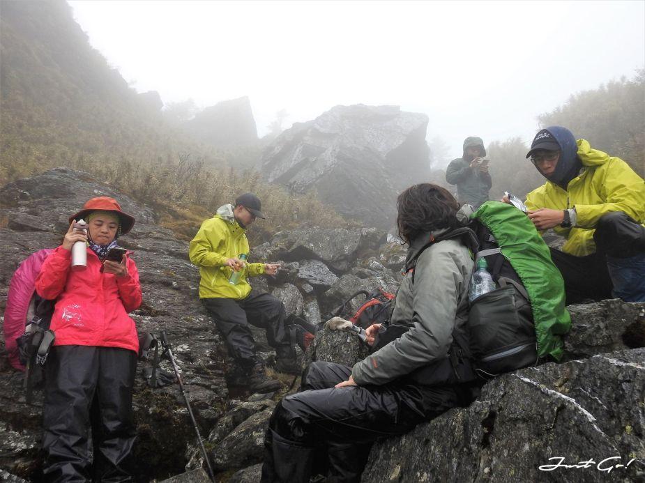台灣 - 能高安東軍縱走自組隊-5日行程遊記、gpx路線、申請、水源11