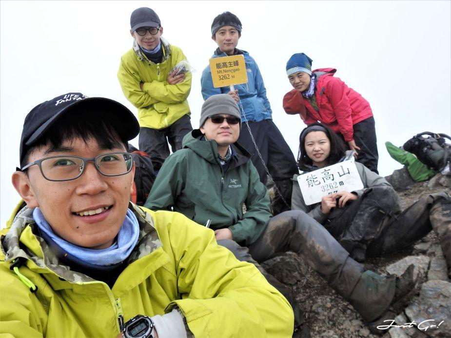 台灣 - 能高安東軍縱走自組隊-5日行程遊記、gpx路線、申請、水源14