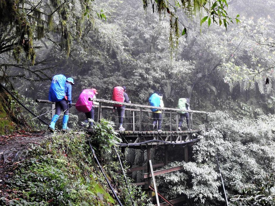 台灣 - 能高安東軍縱走自組隊-5日行程遊記、gpx路線、申請、水源2