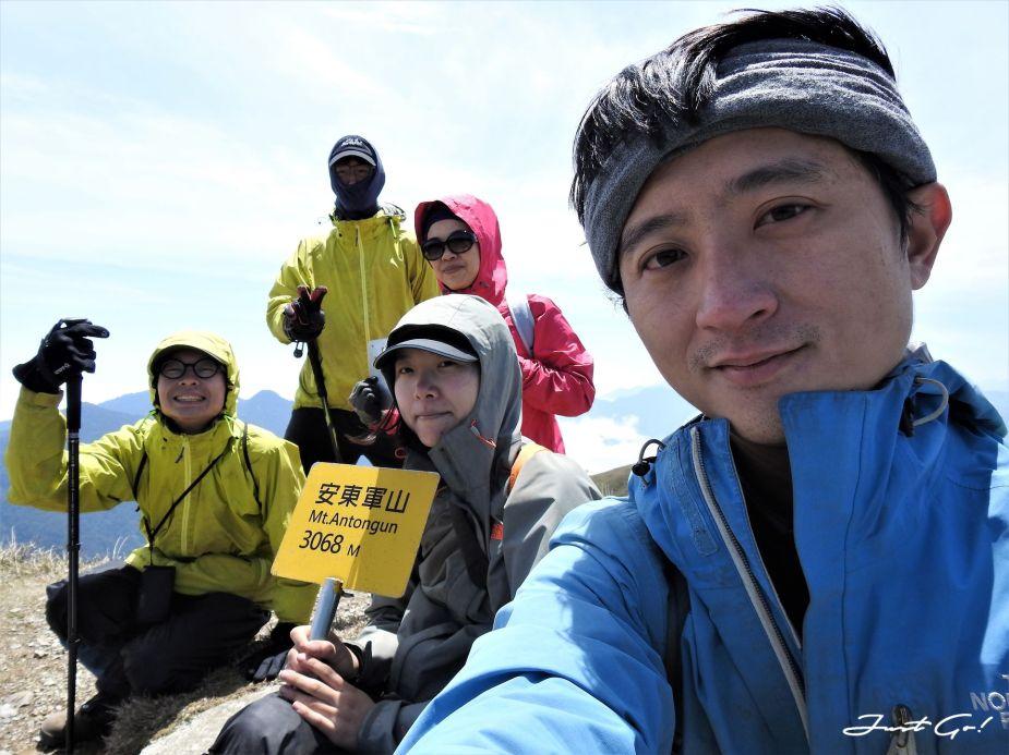 台灣 - 能高安東軍縱走自組隊-5日行程遊記、gpx路線、申請、水源74