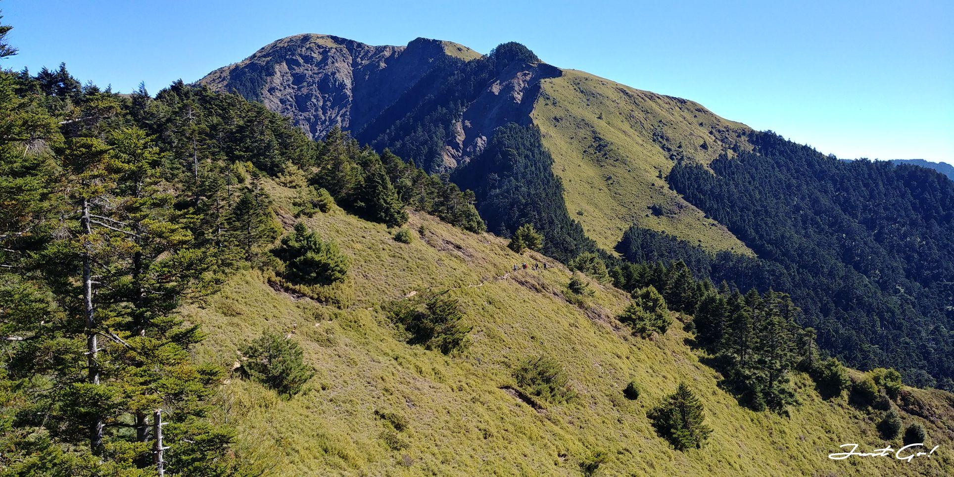 一日百岳·9小時單攻合歡西峰北峰-地圖gpx、行程規劃、申請、登山口25