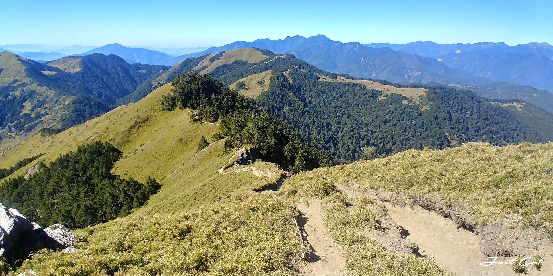 一日百岳·9小時單攻合歡西峰北峰-地圖gpx、行程規劃、申請、登山口31