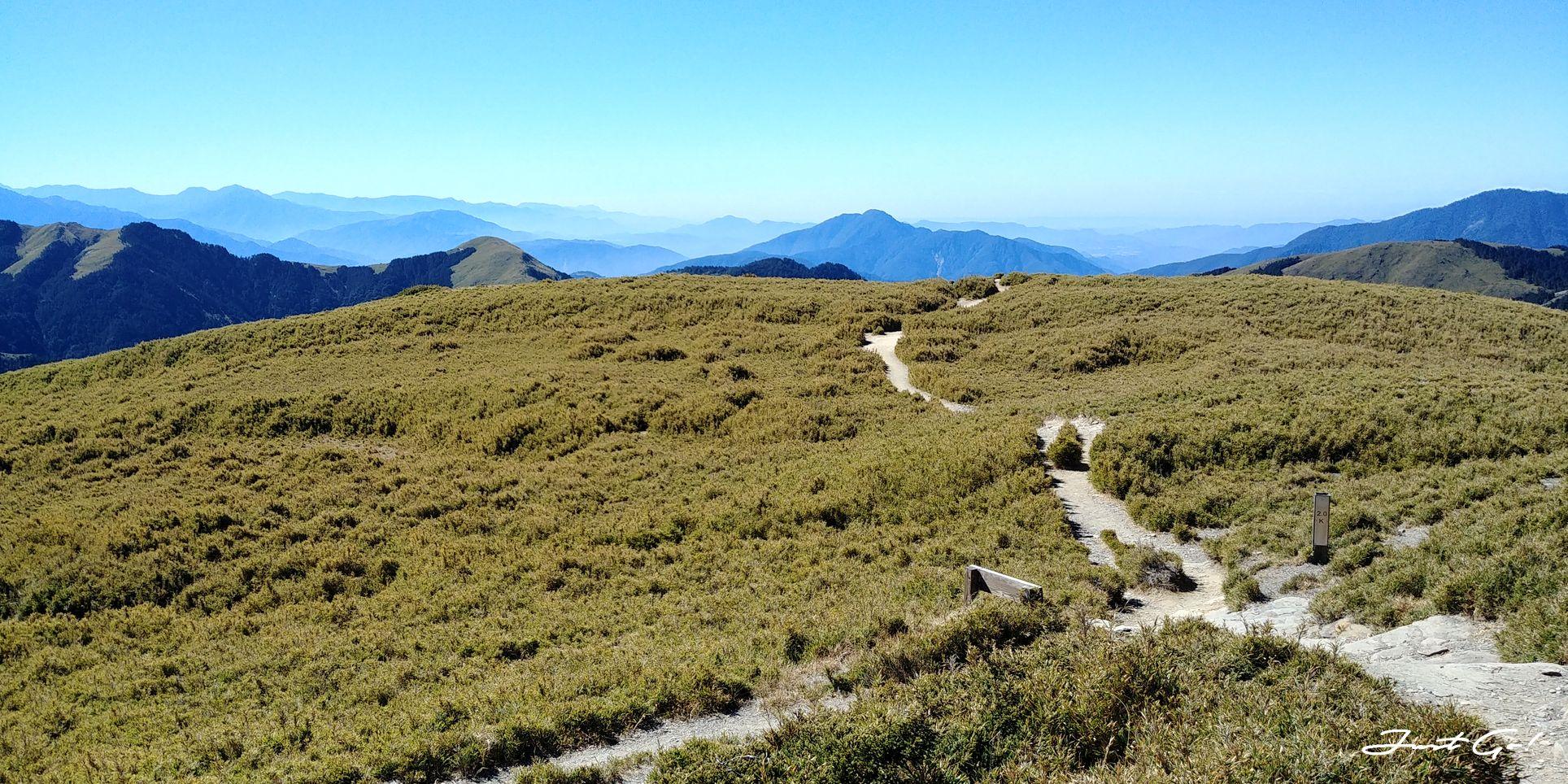 一日百岳·9小時單攻合歡西峰北峰-地圖gpx、行程規劃、申請、登山口33