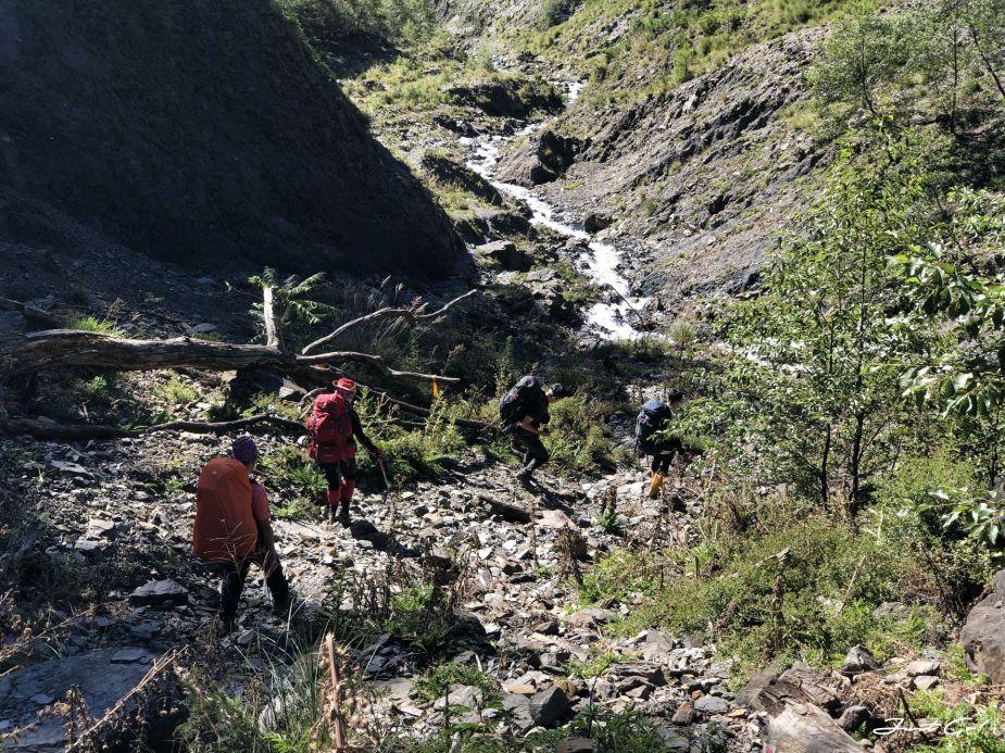 北二段C+級百岳-無明山、甘薯峰3天2夜-gpx路線、行程接駁、申請、水源10