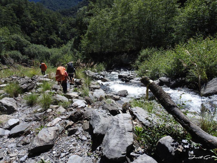 北二段C+級百岳-無明山、甘薯峰3天2夜-gpx路線、行程接駁、申請、水源12