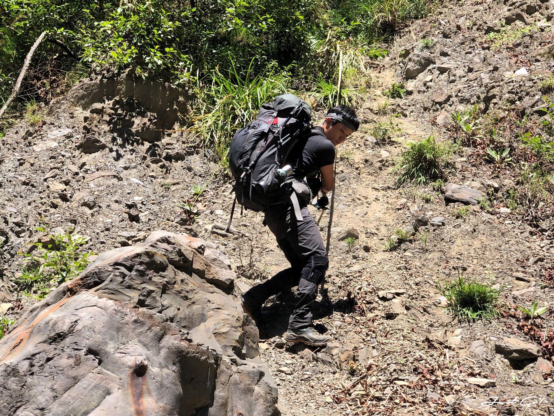 北二段C+級百岳-無明山、甘薯峰3天2夜-gpx路線、行程接駁、申請、水源14