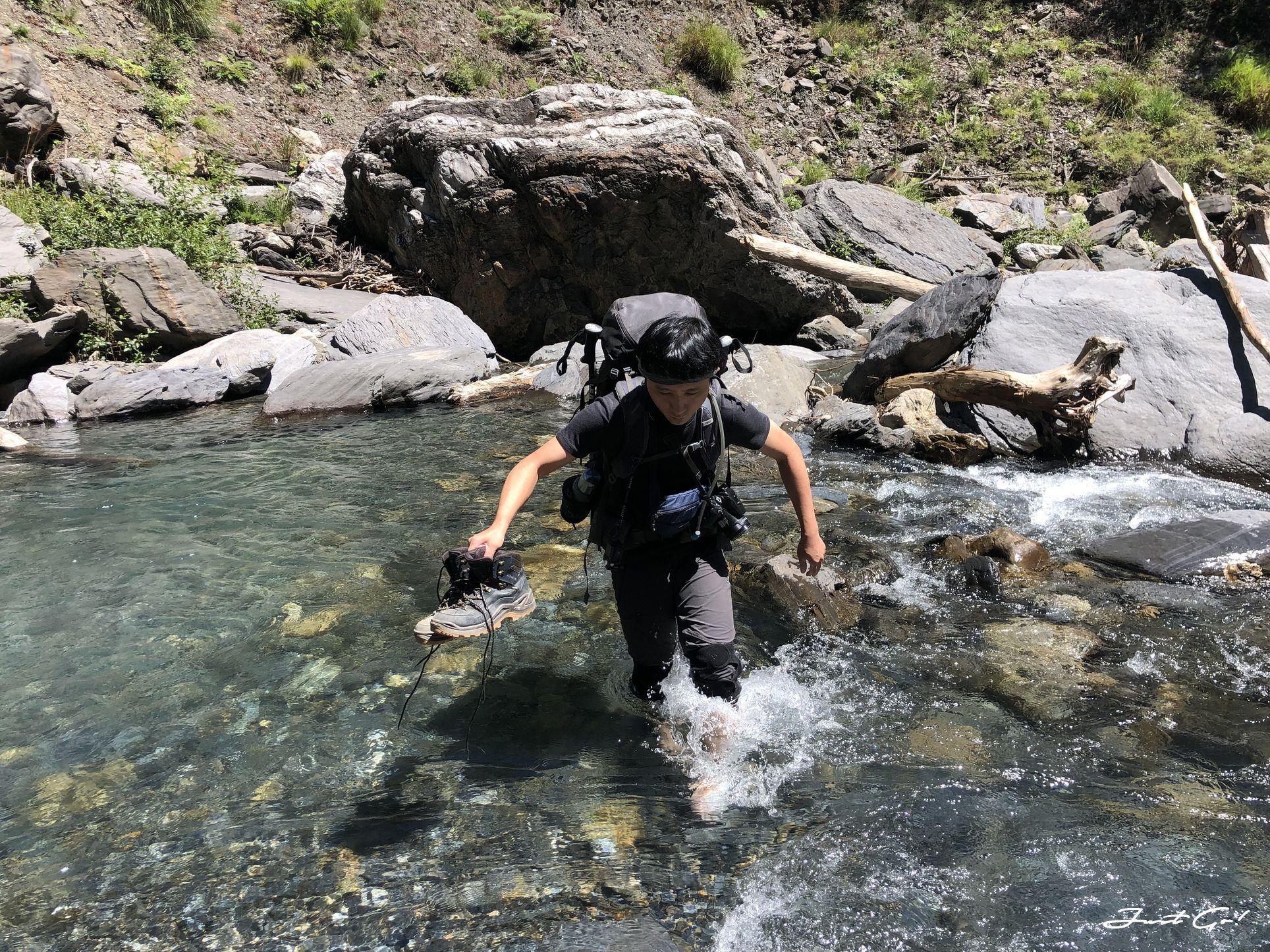北二段C+級百岳-無明山、甘薯峰3天2夜-gpx路線、行程接駁、申請、水源15