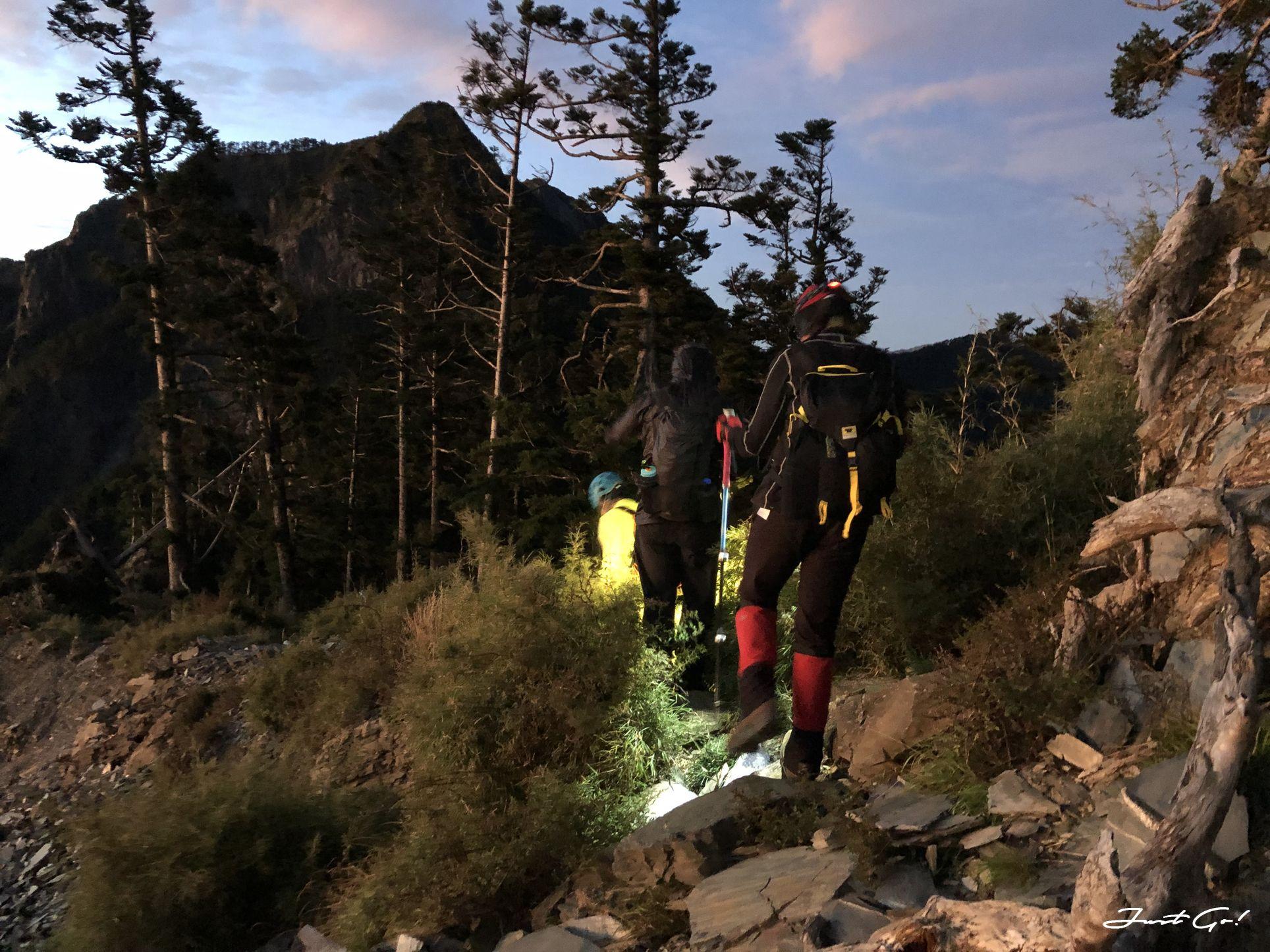 北二段C+級百岳-無明山、甘薯峰3天2夜-gpx路線、行程接駁、申請、水源20