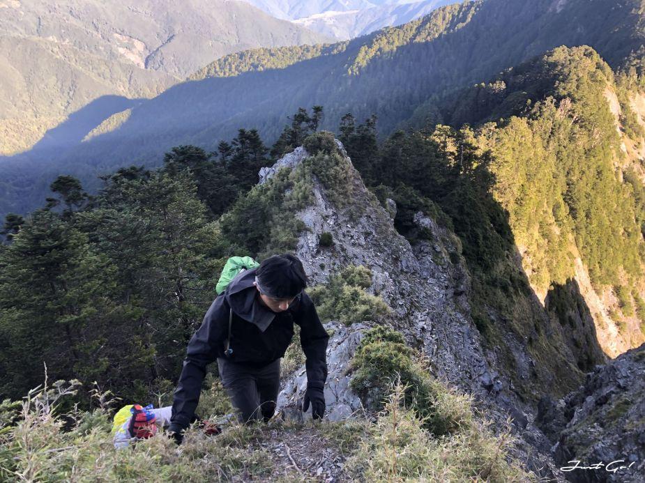 北二段C+級百岳-無明山、甘薯峰3天2夜-gpx路線、行程接駁、申請、水源26