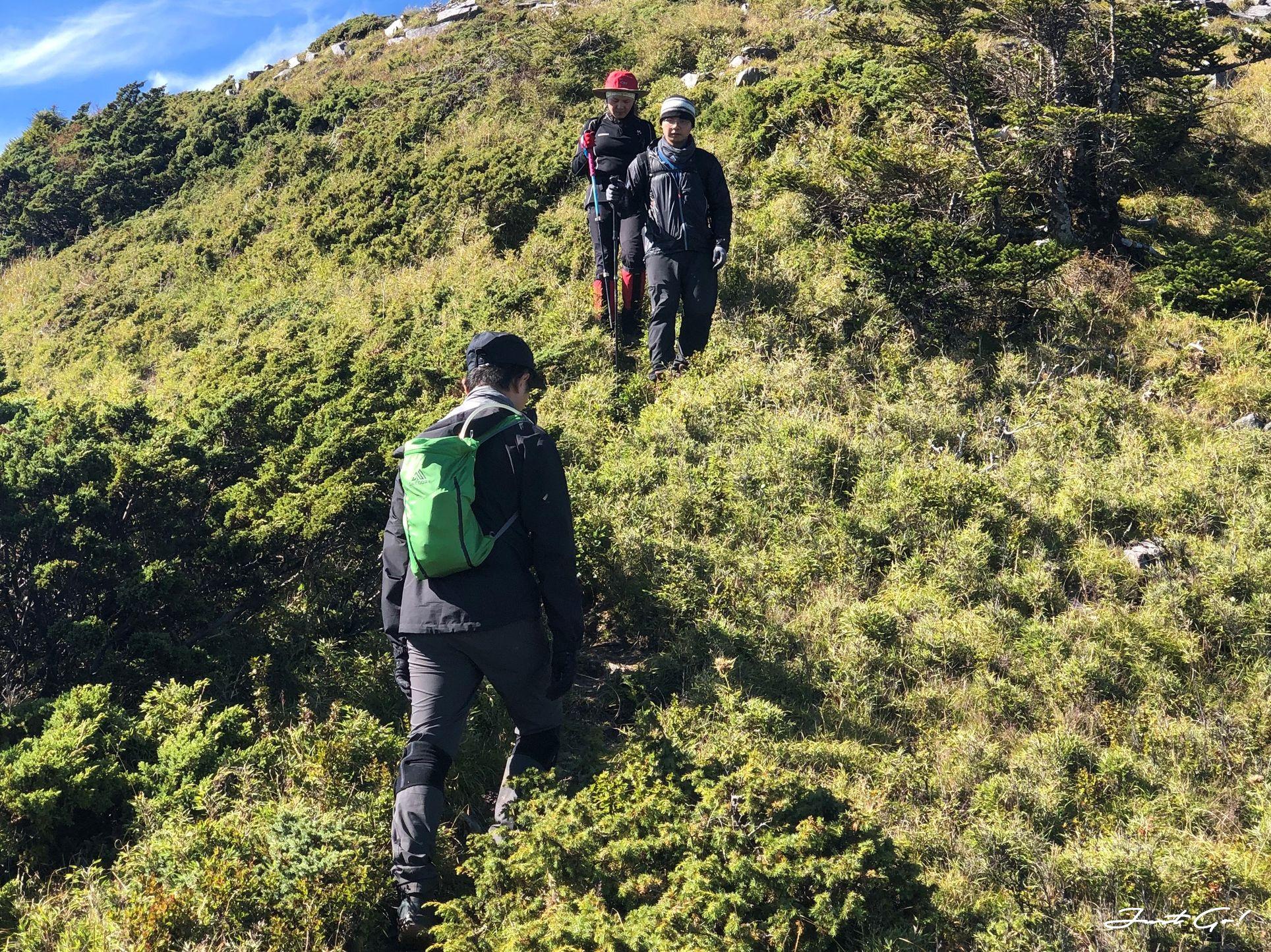 北二段C+級百岳-無明山、甘薯峰3天2夜-gpx路線、行程接駁、申請、水源28-3