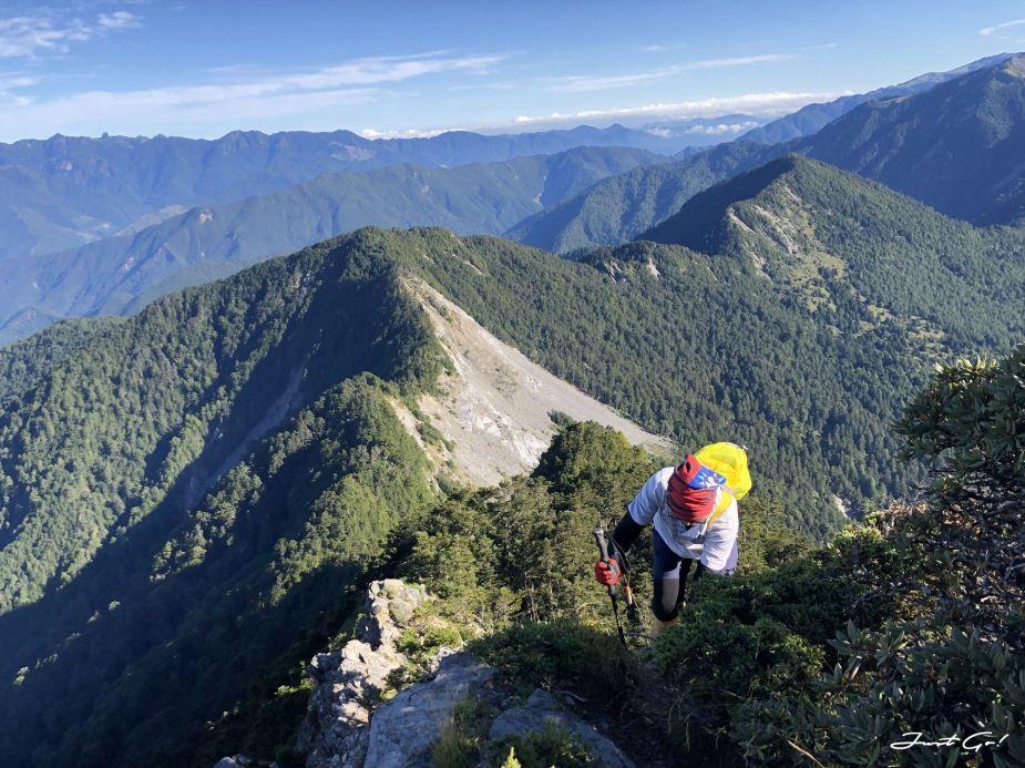 北二段C+級百岳-無明山、甘薯峰3天2夜-gpx路線、行程接駁、申請、水源28