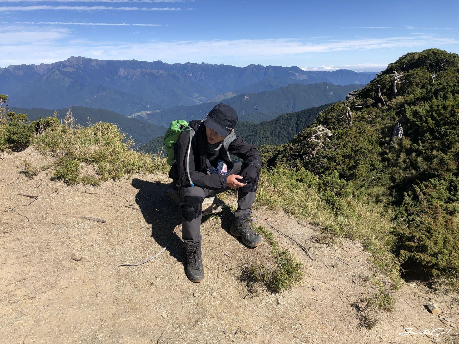 北二段C+級百岳-無明山、甘薯峰3天2夜-gpx路線、行程接駁、申請、水源29