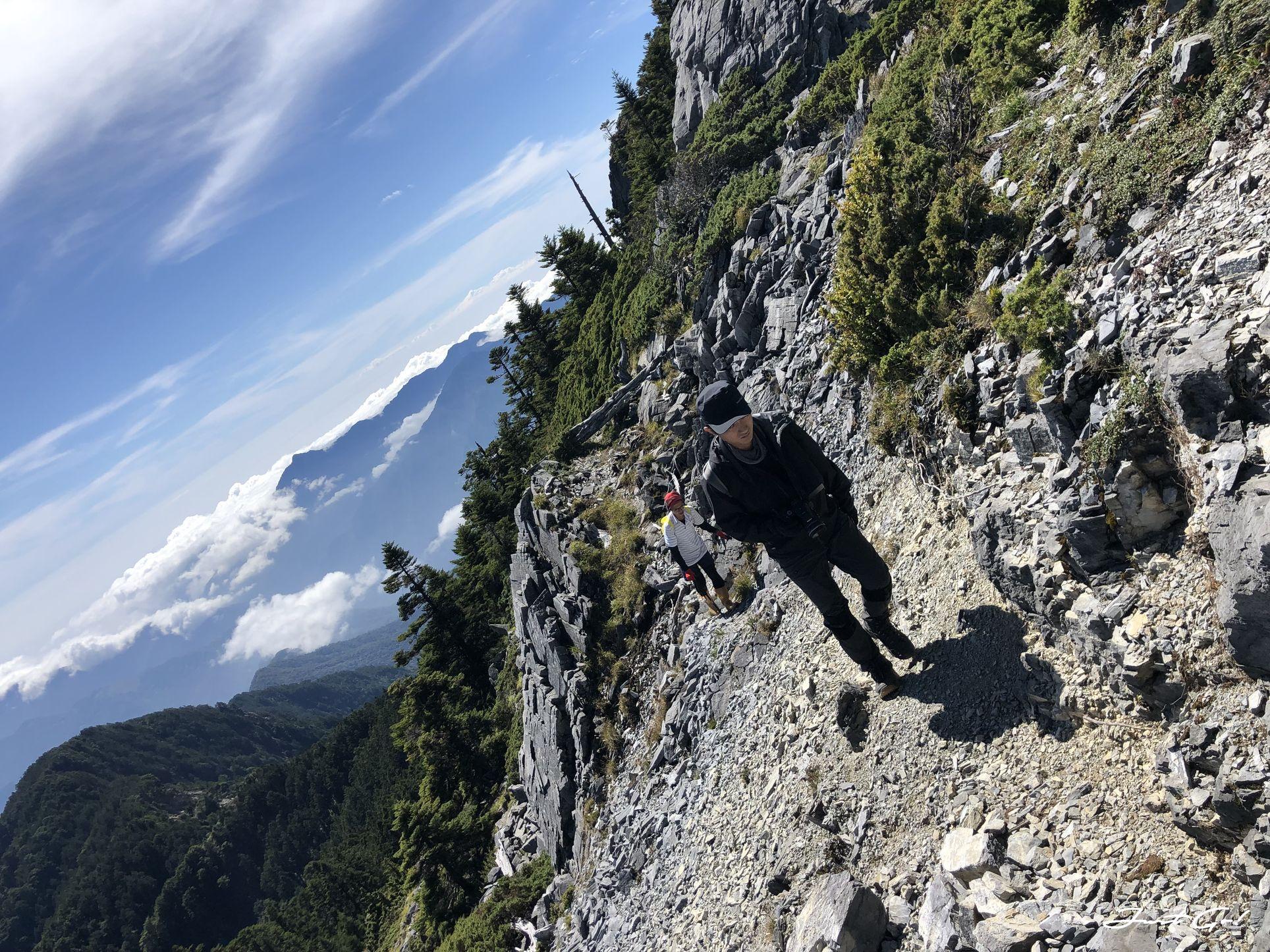 北二段C+級百岳-無明山、甘薯峰3天2夜-gpx路線、行程接駁、申請、水源43