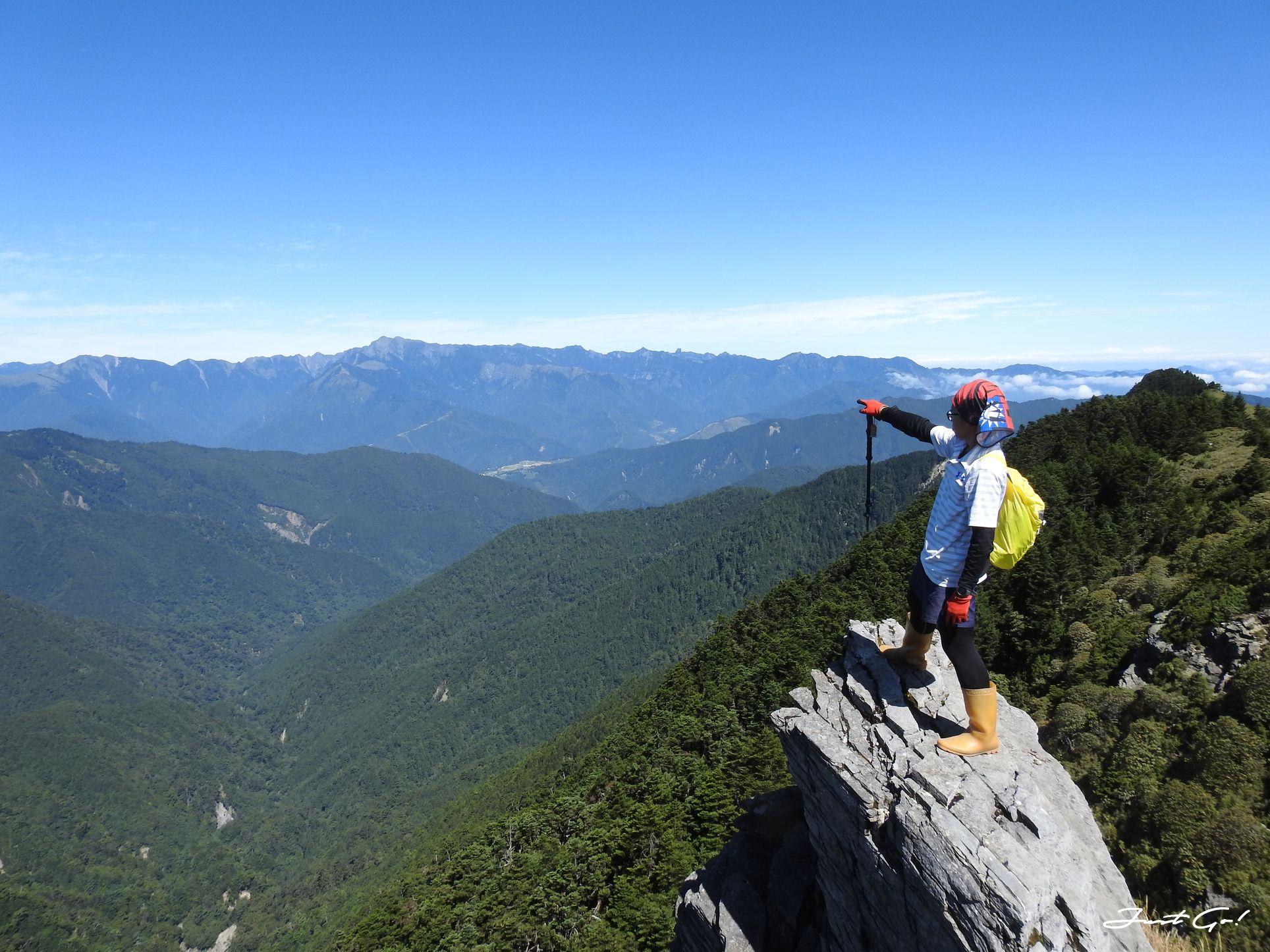 北二段C+級百岳-無明山、甘薯峰3天2夜-gpx路線、行程接駁、申請、水源44
