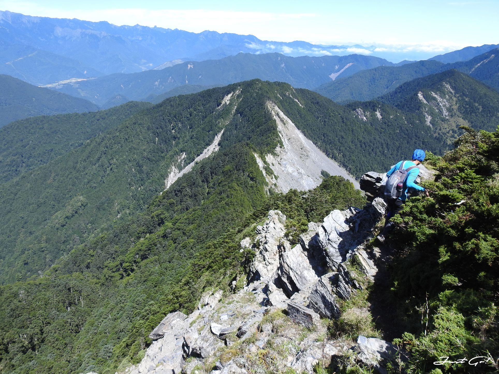 北二段C+級百岳-無明山、甘薯峰3天2夜-gpx路線、行程接駁、申請、水源46