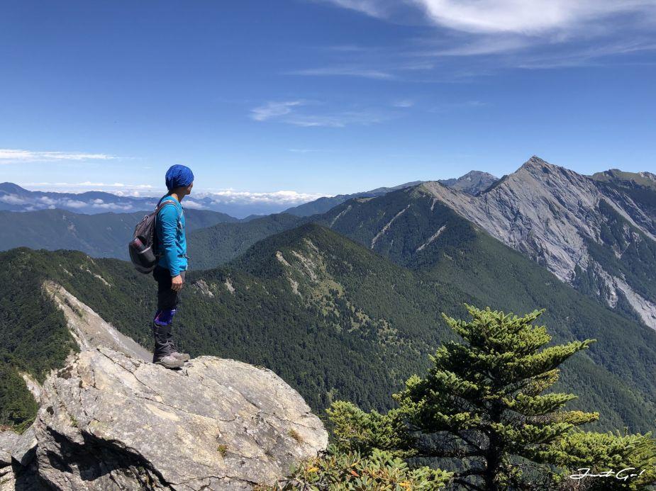北二段C+級百岳-無明山、甘薯峰3天2夜-gpx路線、行程接駁、申請、水源47