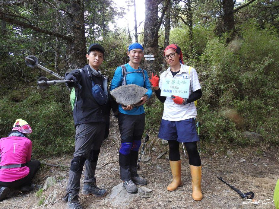 北二段C+級百岳-無明山、甘薯峰3天2夜-gpx路線、行程接駁、申請、水源50