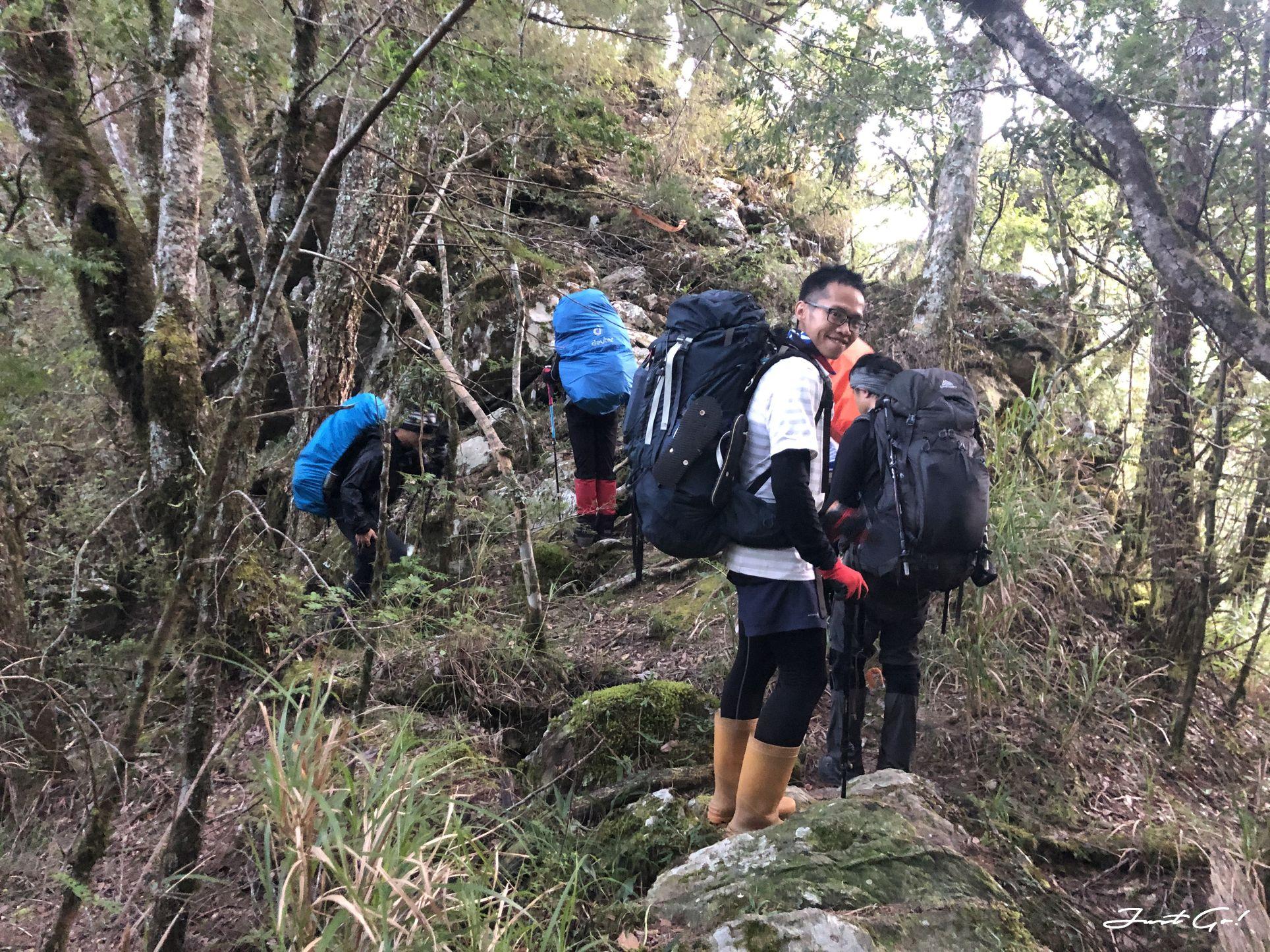 北二段C+級百岳-無明山、甘薯峰3天2夜-gpx路線、行程接駁、申請、水源54