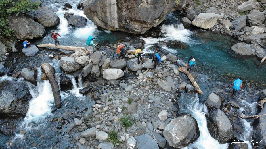 北二段C+級百岳-無明山、甘薯峰3天2夜-gpx路線、行程接駁、申請、水源57