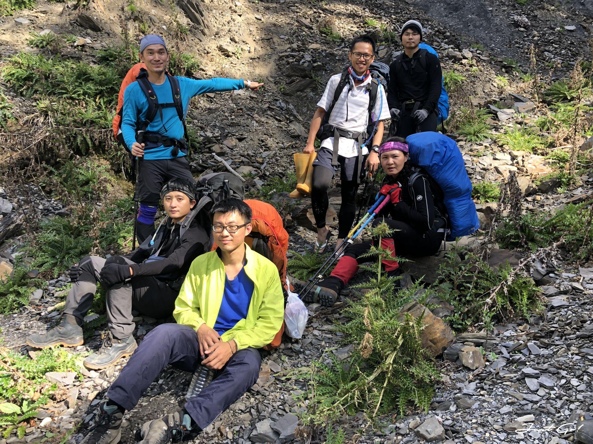 北二段C+級百岳-無明山、甘薯峰3天2夜-gpx路線、行程接駁、申請、水源63