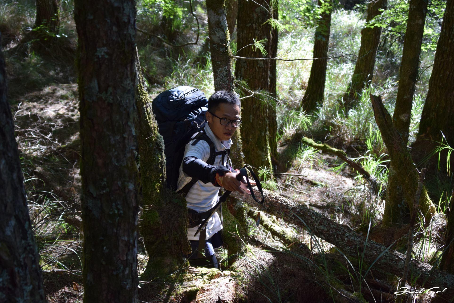 北二段C+級百岳-無明山、甘薯峰3天2夜-gpx路線、行程接駁、申請、水源8