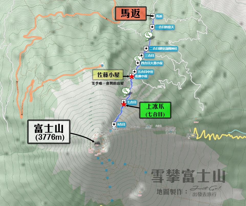 雪攀富士山吉田路線(編)